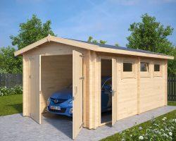 Lesena Garaža